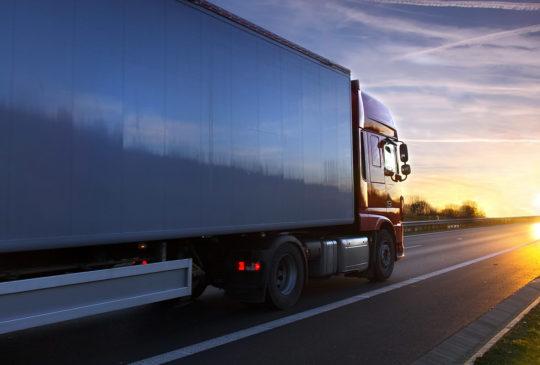 Грузовые перевозки на экспорт